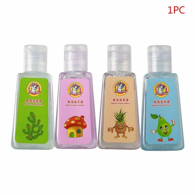 Kids Baby Cartoon Disposable Mini Hand Sanitizer Gel Moisturizing Soap Liquid Hand Soap X7YB