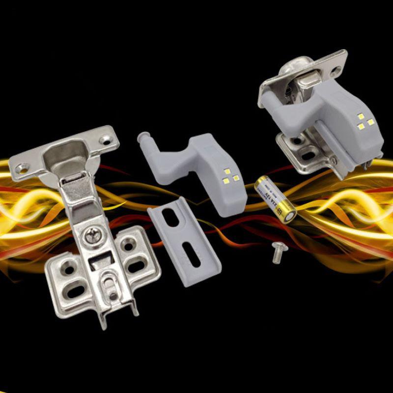 5pcs Cabinet Hinged LED Sensor Light Wallboard Lamp Night Wallboard Lamp Kitchen Lamp Kitchen Supplies