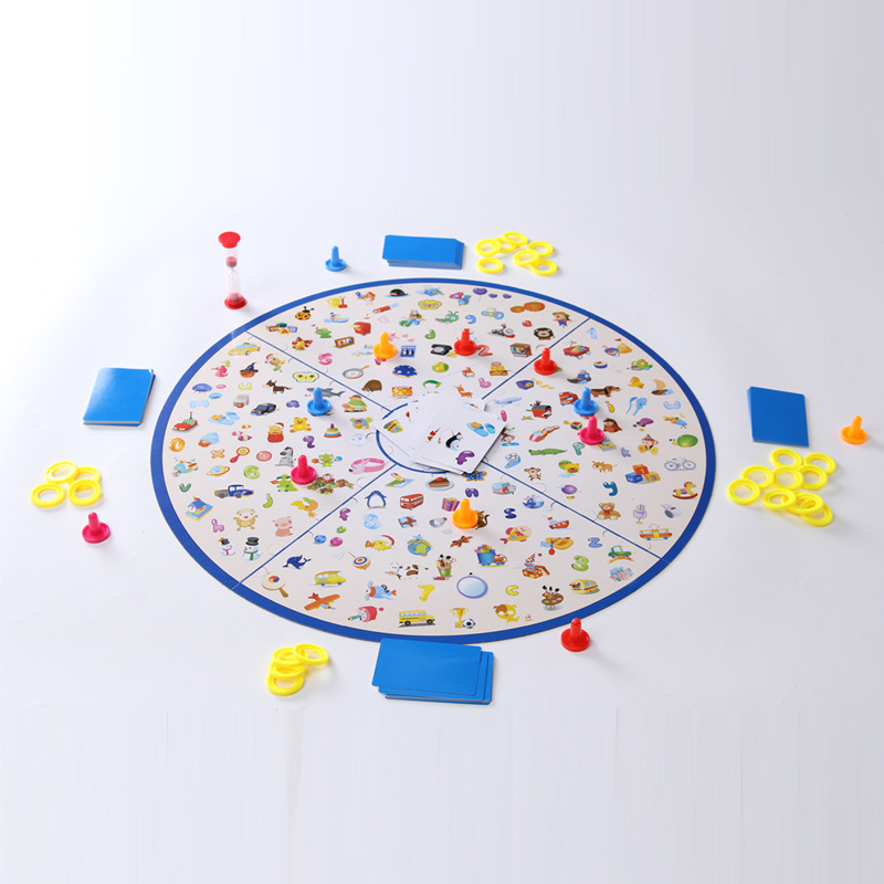 Baby Montessori Puzzle Education Game Kid Detectives Looking Chart Board Plastic Puzzle Brain Training Toys For Children