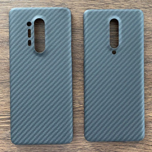 Image 5 - Aramid fiber Back Cover For OnePlus 7 Pro Protective Case 7T 8 nord carbon Cases and covers Nylon bumper Official Design