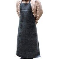 ¡Promoción! Delantal de vinilo de goma resistente al agua  delantales industriales de PVC  delantal de carnicero de goma ajustable para hombres