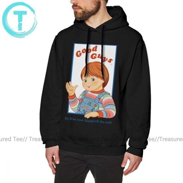 Чаки Толстовка детская игра Good Guys Чаки толстовки оверсайз, костюм: сиреневый свитер хлопковая толстовка с капюшоном модные уличная толстовка с капюшоном
