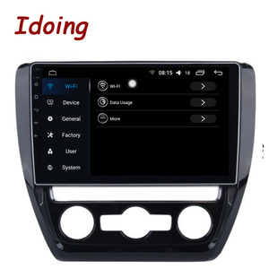 "Image 4 - Idoing 10.2""4G+64G Octa Core Car Android Radio Vedio Multimedia Player Fit VOLKSWAGE 2011 2015 2.5D IPS DSP GPS Navigation"