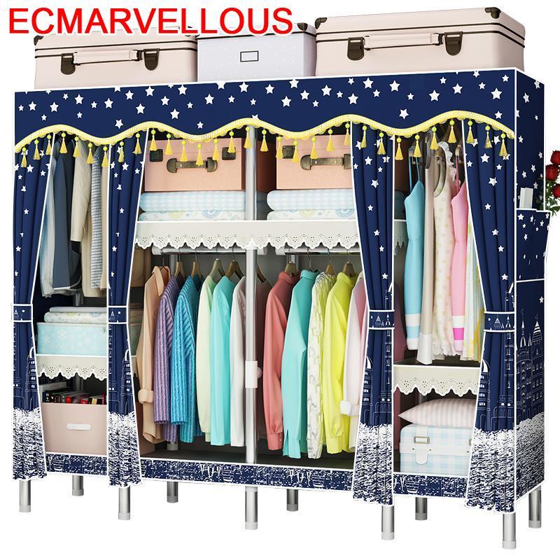 Armadio Dressing Penderie Meble Armario Tela Rangement Chambre Dresser font b Closet b font De Dormitorio
