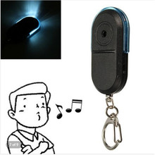 Wireless 10m Anti-Lost Alarm Key Finder Locator Keychain Whistle Sound With LED Light Mini Anti Lost Key Finder цена