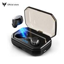 TWS S8 plus V5.0 sans fil Bluetooth écouteurs contrôle tactile IPX6 étanche écouteurs Auto appairage avec 3000mAh boîte de charge