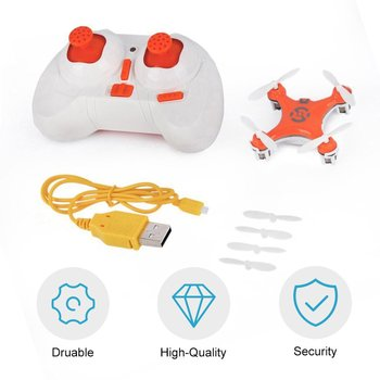 New RC Quadcopter 4CH 2.4GHz Headless Mode Drone Orange for Cheerson CX-10 Exquisitely Designed Durable