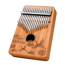 17Kalimba Duim piano made of veneer high quality wooden body instrument wing chun mind wooden dummy sale mook yang jong made of iron body free shipping