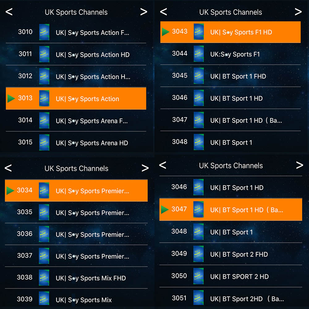 Europe IPTV M3U
