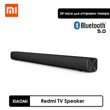 Оригинальная звуковая панель Xiaomi Redmi TV, спутник для телевизора, поддержка Bluetooth 5,0, полоса, черный матовый динамик 30 Вт с направленной звуково...