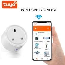 Smart Plug Universal 16A US/UK WiFi Adapter Timing Functie Voice Control Power Smart Switch Support Google Home Alexa Tuya App