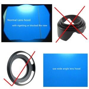 Image 5 - 37mm UV מסנן + מתכת עדשת הוד + כובע לאולימפוס OMD EM10 II III OM D E M10 סימן IV III השני 4 3 2 מצלמה עם 14 42mm עדשות