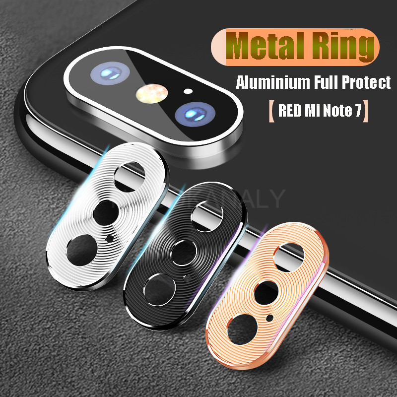 Camera Lens Protective Metal Ring Case For Xiaomi Redmi Note 8 8T 7 Pro Mi 9T K20 9 SE A2 6X Back Camera Lens Protector Cover