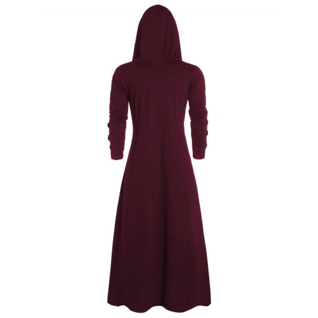Hbdafbc42e39f4de8bb4a4ce98f1946f3k Men's Trench Retro Steam Punk Gothic Wind Cloak Coat Black Solid Casual Summer Plain Cap Cardigan Business Long Sleeve Coat Men
