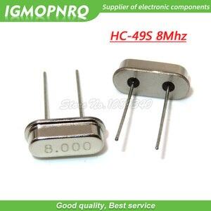 10 шт. HC-49S 4Mhz 6Mhz 8 МГц 12 МГц 16 МГц 20 МГц 24 МГц 32,768 K 2*6 32,768 K 3*8 Кварцевый резонатор пассивный генератор