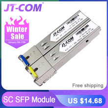 2pcs SFP Module SC connector Gigabit DDM BIDI mini