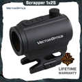 Vector Optics Scrapper 1x25 Red Dot Scope 2MOA Dot Size IPX6 Water Proof Fit NV for AR15 Sight Automatically turned off 4 Hours