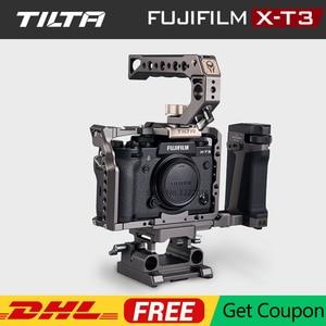 Image 1 - 후지 필름 XT3 X T3 및 X T2 카메라 핸들 그립 후지 필름 xt3 케이지 액세서리 VS SmallRig 용 TILTA DSLR 카메라 케이지