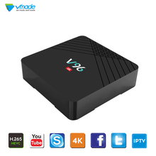 Vmade Android 9.0 Smart TV Box Allwinner H6 Quad Core 2G 16G android TV BOX 4K HD 1080P H.265 Wifi Media play store Set top box 1pcs free ship high hd csa90 2g 16g andriod 5 1 smart tv box remote control octa core rk3368 4k 2 0