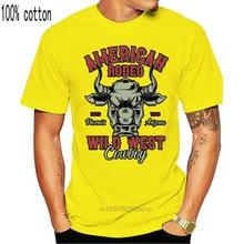 Wild Bull - American Rodeo - Wild West Cowboy | T-Shirt da uomo