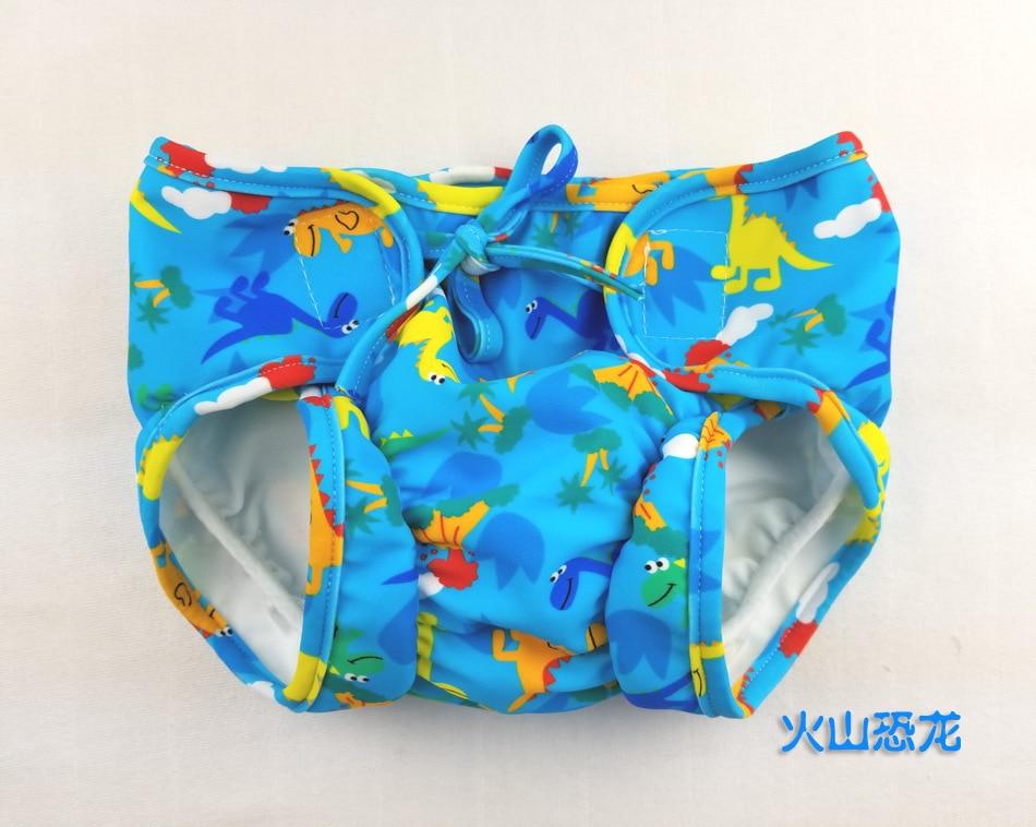 Ocean Fry Infant Leak-Proof Swimming Trunks Gluing With Drawstring-Swimming Trunks Baby Swimming Waterproof Leak-Proof Will