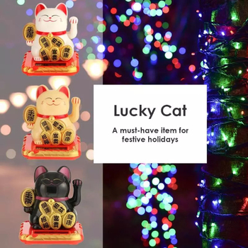 Japanese Style Cat Hotel Restaurant Decor Craft Cute Mini Welcoming Fortune Cat Lucky For Home Car Decoration Ornament image