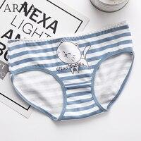 Women Underwear Plus Size Women Modal Lingerie Sexy Cute Cotton Cartoon Girls Ladies Panties Seamless Briefs Underwear Size XXL