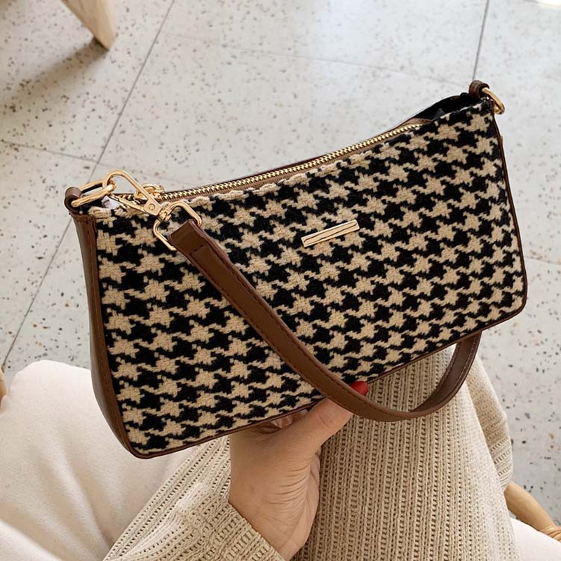 Women's New Retro Baguette Bag High Quality Wild Shoulder Bag Fashion Design Handbag Ladies Messenger Bags