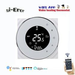 3a wifi inteligente termostato de água controlador temperatura underfloor aquecimento de água, funciona com alexa casa do google