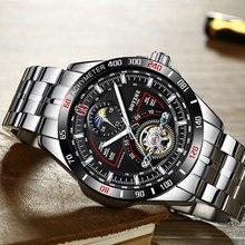 New Automatic Mechanical Watch Men Tourbillon Watch