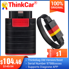 OBD2 Scanner Code-Reader Car-Diagnostic-Tool Think Diag Automotivo Old-Version Bluetooth