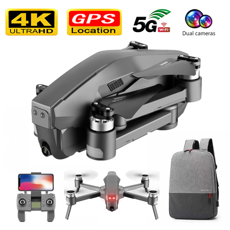 Brushless Drone GPS Follow Me 5G WIFI FPV Live video Optical Flow RC Quadcopter 1600M 30 Minutes Flight 4K Drone with Camera HD image