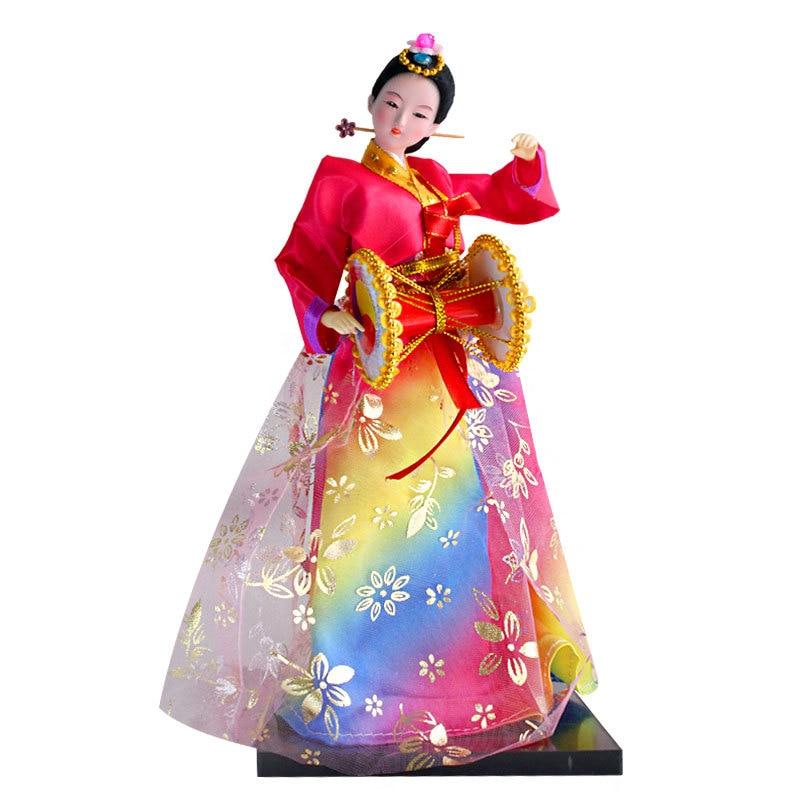 12inch Korea traditional Hanbok Model Figure 36