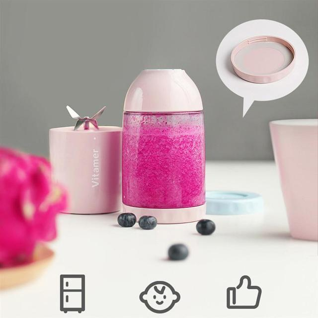 Portable Juicer Blender Rechargeable Electric Smoothie Juicer Bottle Fruit Blender Mixer Mini Cup Maker Fruit Mixing Machine 4