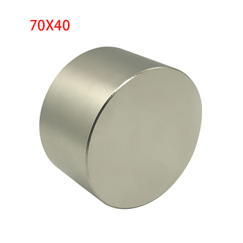 1pc Super Big Round Block Magnet 70*40mm Strong Powerful Neodymium magnet Rare Earth Magnets 1pc round block magnet 60 30mm super strong neodymium magnet permanent rare earth magnet