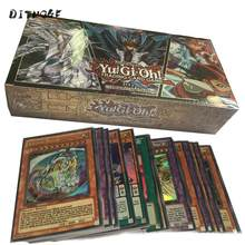 100PCS Japan Yu Gi Oh Game Playing Cards with box Carton Yugioh Game Cards Japan Boy Girls Yu-Gi-Oh Cards Collection For Fun Toy(China)