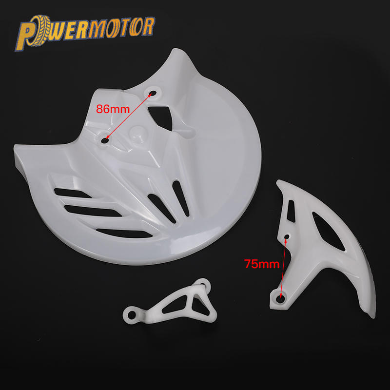 Brake Disc Protective Rear Brake Disc Cover Dirt Street Bike Plastic Protection Rear Calipers Cover Fit To CRF T4 T6 CRF 250 450 Brake Disks     - title=