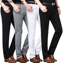 Leisure Pants Male 2020 Season Business Leisure Middle Age Straight Cylinder Lei