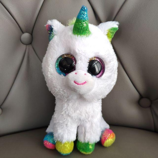PIXY UNICORN 15CM big eyes plush toys stuffed animals Christmas gift kids soft toys beautiful eyes