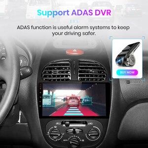 Image 5 - Junsun V1 pro 4G + 64G CarPlay Android 9.0 DSP dla Peugeot 206 2001   2008 Radio samochodowe multimedialny odtwarzacz wideo GPS RDS 2 din dvd