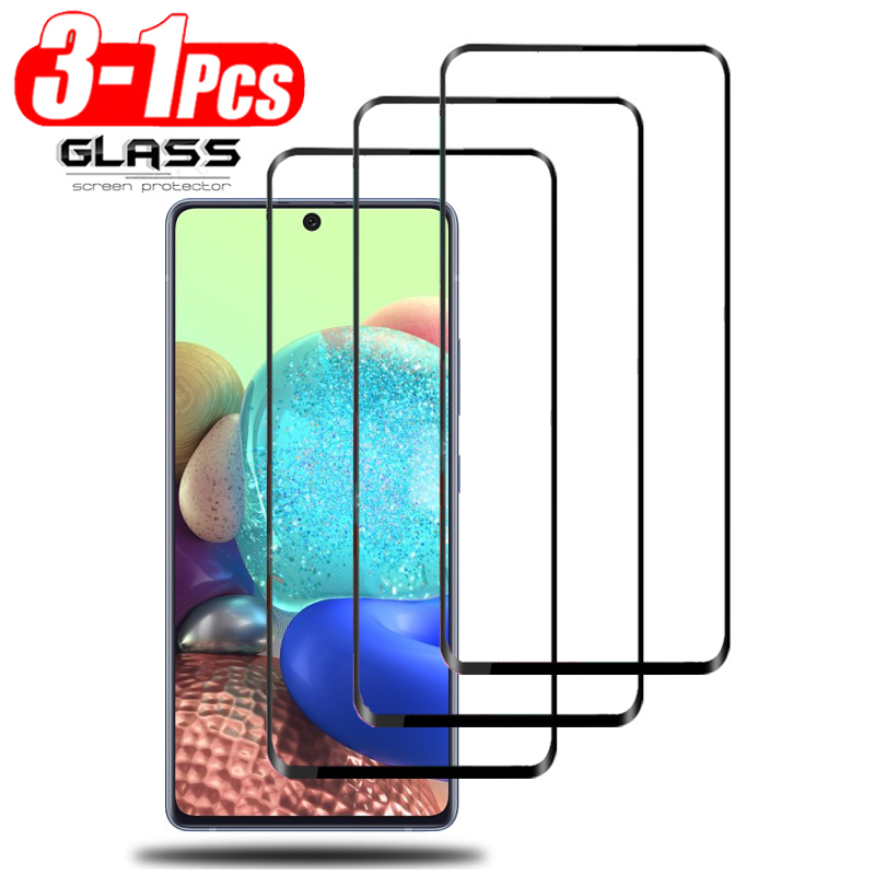 1-3 pcs, glass for samsung galaxy a71 tempered glass protection for galaxy a 71 screen protector for samsung a51 glass a 51