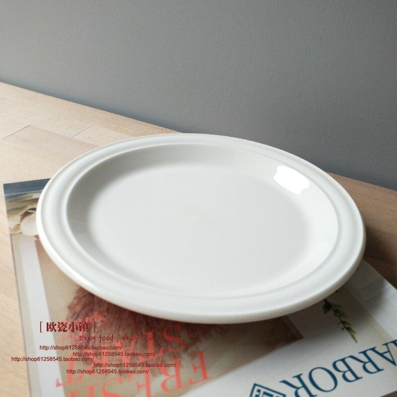 Style nordique nourriture assiettes en céramique vaisselle déjeuner dîner servant Restaurant plat Pratos De Jantar assiettes De cuisine EA60PZ