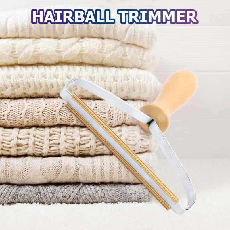 Przenośne usuwanie kłaków ubrania Fuzz golarka do tkanin pędzel Power-Free Fluff usuwanie rolki do swetra tkane płaszcz Dropshipping