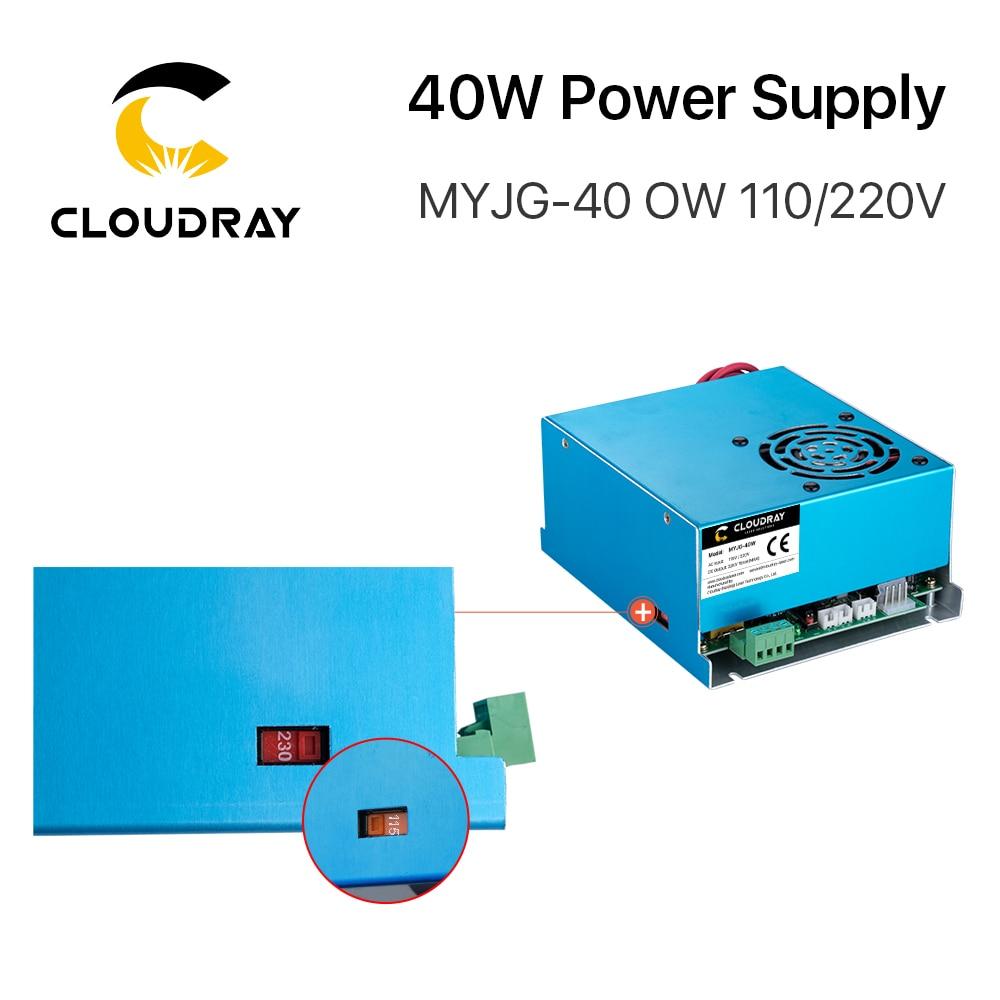 Alimentatore laser CO2 Cloudray 40W 110 V / 220 V per macchina da - Parti di macchine per la lavorazione del legno - Fotografia 4