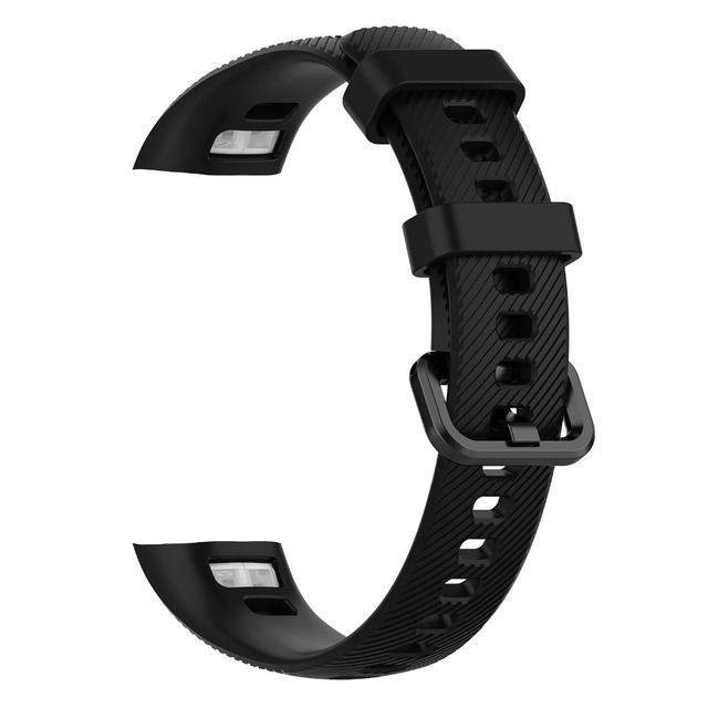 FIFATA Silicone Watch Strap For Honor Band 4 5 Wristbands Accessories Replacement Sport Strap For Huawei Honor Band 5 4 Bracelet 5