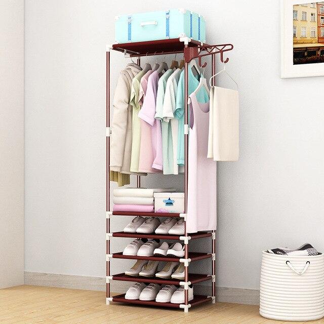 Coat Rack Closet Floor Shelf 4