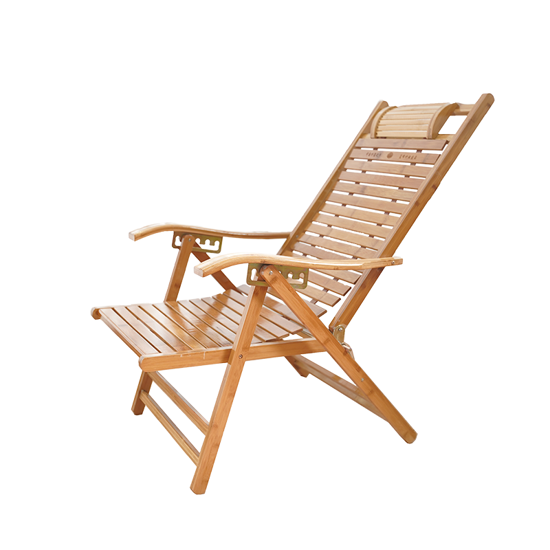 Bamboo Recliner Folding Rocking Chair Home Rocking Siesta Chair Cool Chair Elderly Leisure Solid Wood Chair Bamboo Chair