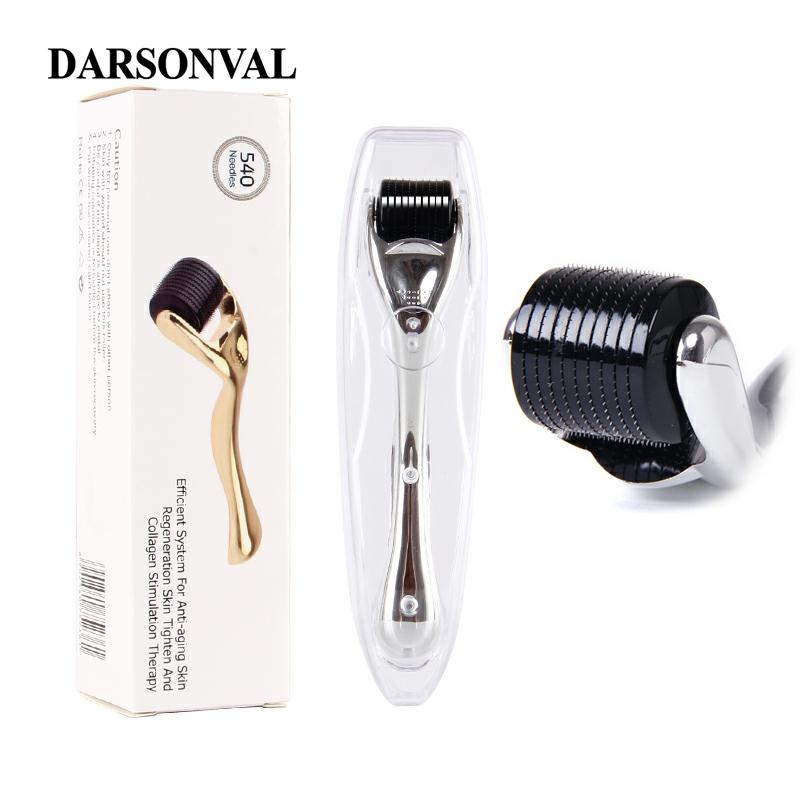 DARSONVAL DRS 540 micro needles derma roller titanium mezoroller microneedle machine for skin care and body treatment