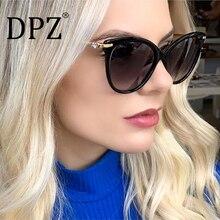 New luxury metal water drill process mirror foot sunglasses