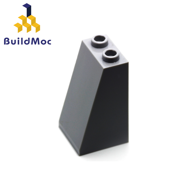 BuildMOC 30499 Slope 75 2 X 2 X 3 - Undetermined Stud Type For Building Blocks Parts DIY LOGO Educational Tech Parts Toys